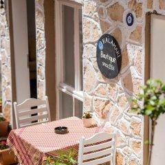 Отель Old Kalamaki Pansiyon Калкан питание фото 3
