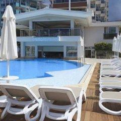 Xperia Saray Beach Hotel Турция, Аланья - 10 отзывов об отеле, цены и фото номеров - забронировать отель Xperia Saray Beach Hotel онлайн бассейн фото 3