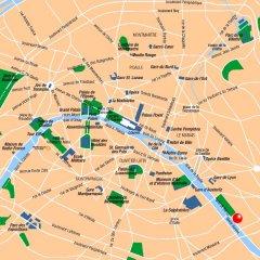 Отель Kyriad Bercy Village Париж городской автобус
