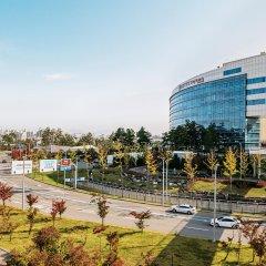 Отель Lotte City Hotel Gimpo Airport Южная Корея, Сеул - отзывы, цены и фото номеров - забронировать отель Lotte City Hotel Gimpo Airport онлайн балкон