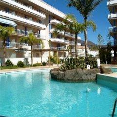 Отель Port Canigo Испания, Курорт Росес - отзывы, цены и фото номеров - забронировать отель Port Canigo онлайн бассейн фото 2