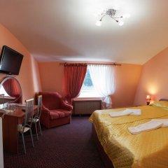 Отель Домик Охотника Токсово комната для гостей фото 4