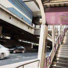 Отель The Step Sathon Бангкок парковка