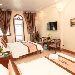 Отель Halong Party Hostel Вьетнам, Халонг - отзывы, цены и фото номеров - забронировать отель Halong Party Hostel онлайн комната для гостей фото 3