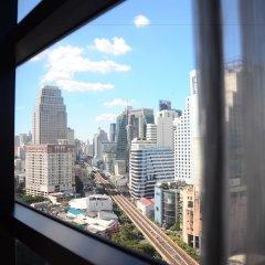 Отель Holiday Inn Bangkok Sukhumvit Бангкок комната для гостей