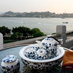 Lujiang Harbourview Hotel Xiamen Сямынь бассейн