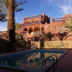 Отель Maroc Galacx Марокко, Уарзазат - отзывы, цены и фото номеров - забронировать отель Maroc Galacx онлайн бассейн фото 2