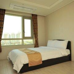 Отель Golden Forest Residence Южная Корея, Сеул - отзывы, цены и фото номеров - забронировать отель Golden Forest Residence онлайн комната для гостей фото 3