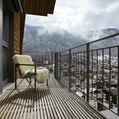 Отель The Omnia Швейцария, Церматт - отзывы, цены и фото номеров - забронировать отель The Omnia онлайн балкон