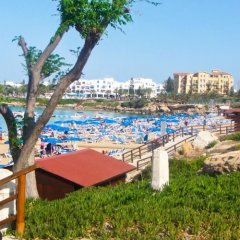 Отель Oceanview Villa 100 Кипр, Протарас - отзывы, цены и фото номеров - забронировать отель Oceanview Villa 100 онлайн пляж