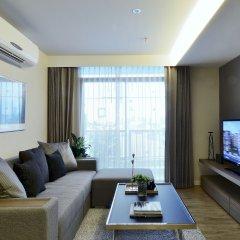 Отель Siamese Nanglinchee Residence Таиланд, Бангкок - отзывы, цены и фото номеров - забронировать отель Siamese Nanglinchee Residence онлайн комната для гостей фото 4