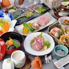 Отель Oyado Hanabou Минамиогуни питание