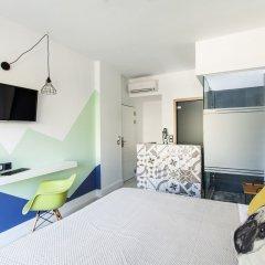 Отель Blue Bottle Boutique Hotel Греция, Салоники - отзывы, цены и фото номеров - забронировать отель Blue Bottle Boutique Hotel онлайн комната для гостей фото 5