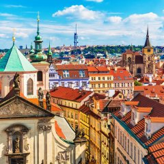Отель Golden Key Чехия, Прага - отзывы, цены и фото номеров - забронировать отель Golden Key онлайн балкон