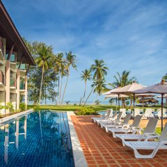 Отель Saladan Beach Resort Таиланд, Ланта - отзывы, цены и фото номеров - забронировать отель Saladan Beach Resort онлайн бассейн