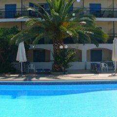 Отель Danae Hotel Греция, Эгина - отзывы, цены и фото номеров - забронировать отель Danae Hotel онлайн бассейн фото 2