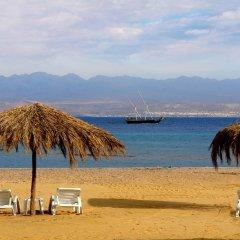 Отель Strand Beach and Golf Taba Heights пляж