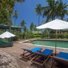 Отель Maravu Taveuni Lodge бассейн
