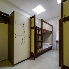 Ostriv Hostel сейф в номере