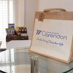 Отель Clarendon Burleigh Mansions удобства в номере фото 2