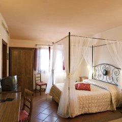 Отель Casolare Le Terre Rosse Италия, Сан-Джиминьяно - 1 отзыв об отеле, цены и фото номеров - забронировать отель Casolare Le Terre Rosse онлайн комната для гостей фото 2