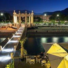Отель Mondello Palace Hotel Италия, Палермо - отзывы, цены и фото номеров - забронировать отель Mondello Palace Hotel онлайн бассейн