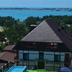 Гостиница Альпен Хаус (Геленджик) пляж