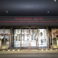 The President Hotel Лондон вид на фасад
