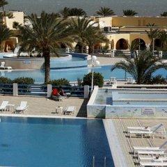 Отель Baya Beach Aqua Park Resort & Thalasso Тунис, Мидун - отзывы, цены и фото номеров - забронировать отель Baya Beach Aqua Park Resort & Thalasso онлайн приотельная территория