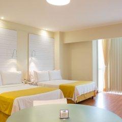 Отель Holiday Inn Express And Suites Mexico City At The Wtc Мехико комната для гостей фото 4