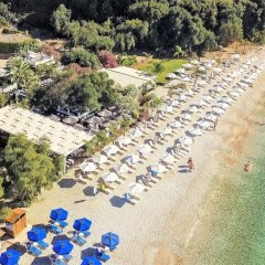 Отель Corfu Residence пляж фото 2