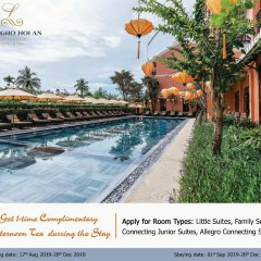 Allegro Hoi An. A Little Luxury Hotel & Spa парковка