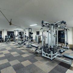 Гостиница Okhta park фитнесс-зал