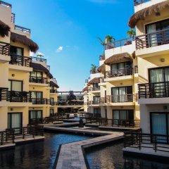 Отель Aldea Thai by Ocean Front Плая-дель-Кармен приотельная территория фото 2