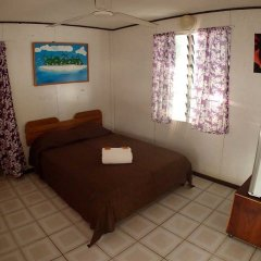 Отель Pension Justine Французская Полинезия, Тикехау - отзывы, цены и фото номеров - забронировать отель Pension Justine онлайн комната для гостей фото 2