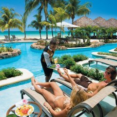 Отель Sandals Negril Beach Resort & Spa Luxury Inclusive Couples Only бассейн