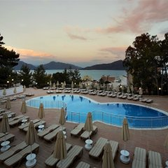 Ideal Panorama Hotel Турция, Мармарис - отзывы, цены и фото номеров - забронировать отель Ideal Panorama Hotel - All Inclusive онлайн бассейн фото 2