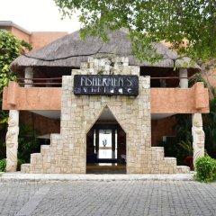Отель Sunset Fishermen Beach Resort Плая-дель-Кармен вид на фасад