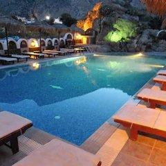 Отель Black Sand Hotel Греция, Остров Санторини - отзывы, цены и фото номеров - забронировать отель Black Sand Hotel онлайн бассейн фото 3