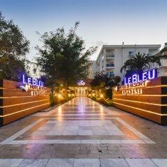 Le Bleu Hotel & Resort парковка