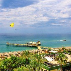 Отель Lyra Resort - All Inclusive Сиде пляж фото 2