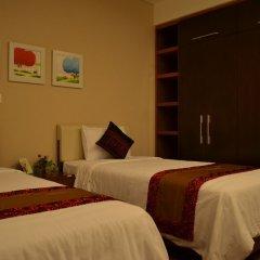 Апартаменты An Phu Plaza Serviced Apartment комната для гостей фото 5