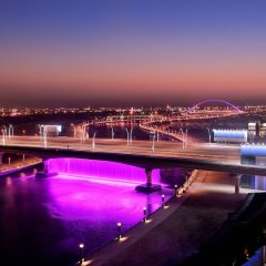 Отель JW Marriott Marquis Dubai бассейн фото 3