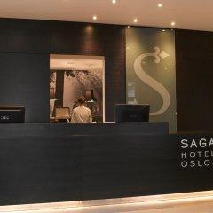 Saga Hotel Oslo сейф в номере