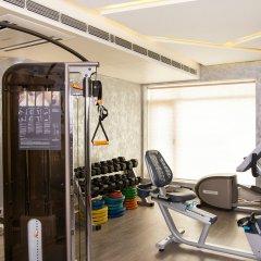 Отель Aauris фитнесс-зал