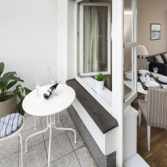 Апартаменты New Town - Apple Apartments балкон