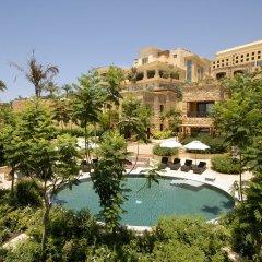 Отель Kempinski Hotel Ishtar Dead Sea Иордания, Сваймех - 2 отзыва об отеле, цены и фото номеров - забронировать отель Kempinski Hotel Ishtar Dead Sea онлайн приотельная территория