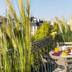 Отель Marais Grands Boulevards Париж балкон