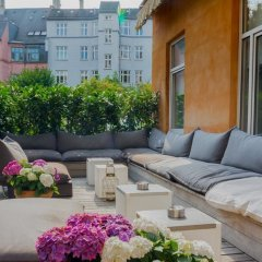 Avenue Hotel Copenhagen Копенгаген балкон