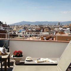 Отель Gaudi балкон